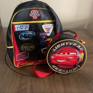 SOLD✨Disney   Cars backpack & lunch bag
